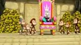 《汪汪队立大功》甜甜和戴王冠的猴子,准备争做女王的宝座