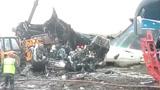 尼泊尔客机降落时坠毁 至少49人死亡或有1名中国人