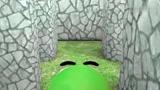 绿豆人VS口袋妖怪,恐龙遭到愤怒小鸟的围攻