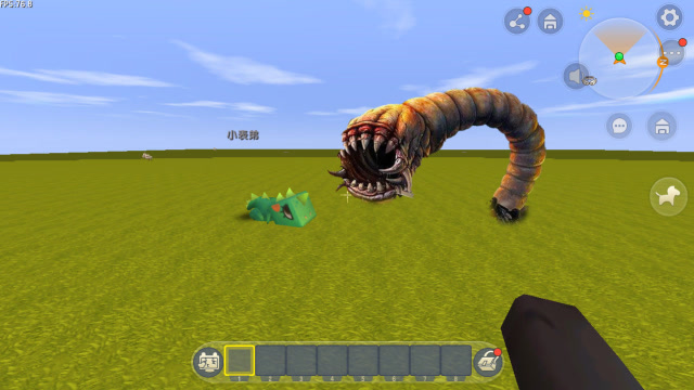 """迷你世界:大表哥发现""""大虫子"""",居然是毛毛虫进化的,该怎么打败他海报剧照"""