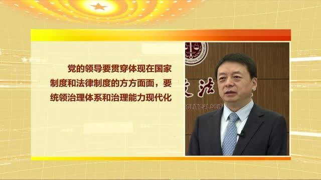 視頻專訪丨中國政法大學校長馬懷德:法治體系是國家治理的骨幹工程