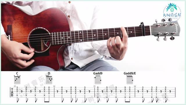 《Viva La Vida》Coldplay-吉他弹唱教学-大树音乐屋-eastman吉他