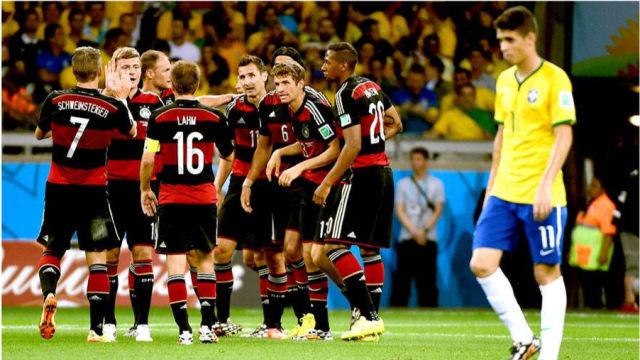 〖世界杯〗桑巴军团最黑暗的一天,回忆世界杯半决赛德国血洗巴西