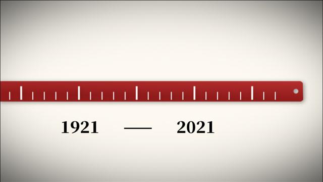 刻度上的百年征程