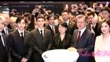 宋慧乔EXO领衔韩星出席中韩经贸合作交流会,获总统文在寅握手接见