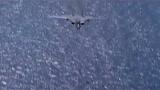 """美军F-14战斗机穿越回二战时期,日本""""零式""""战机成了活靶!"""