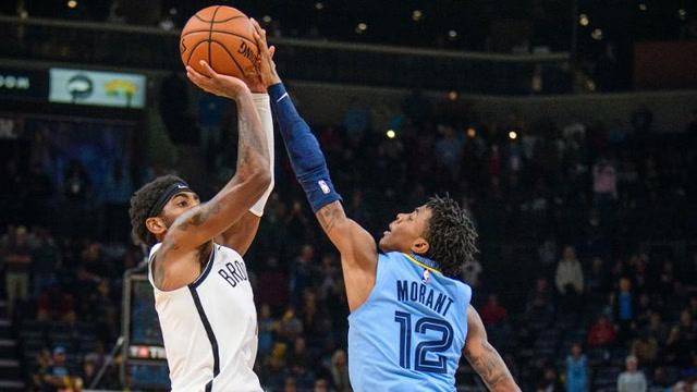 28日NBA五佳球 莫蘭特血帽歐文克勞德致命三分絕殺籃網