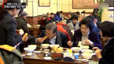 韩总统文在寅现身北京早餐馆 吃起豆浆油条不亦乐乎