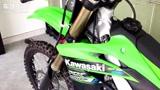 绿怪物川崎暴力大单缸KX250F
