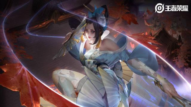 王者榮耀:【新皮膚爆料】藍焰獅貓,不知火舞-魅語登場!