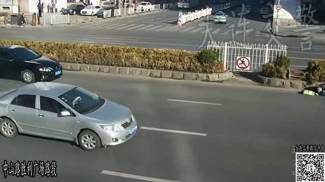 違規過馬路帶來的教訓最後