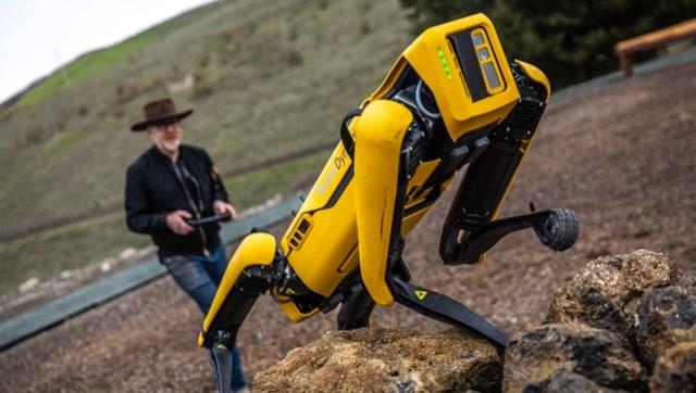 波士頓動力機器狗最新測試,沒想到人工智能已經發展到這種程度了!