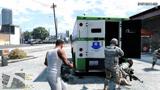 GTA5为炸运钞车引来警察的围追堵截