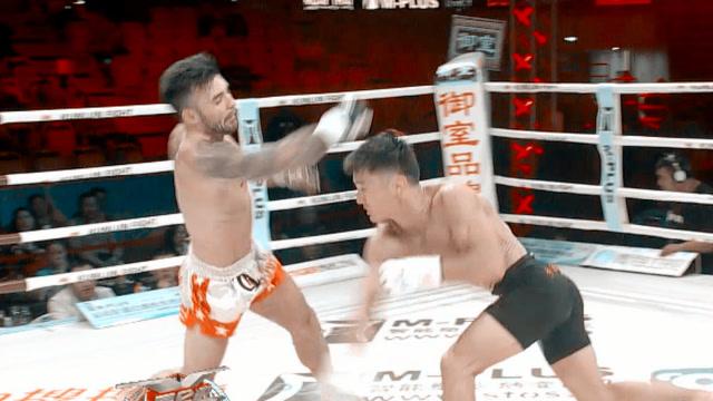 加拿大拳王被一拳打倒 起身重拳TKO逆天翻盘_功夫搏击