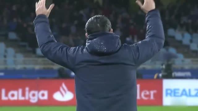 對梅西進球的瘋狂反應 !