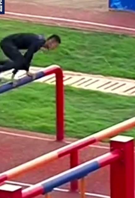 中國選手潘玉程障礙跑破世界紀錄