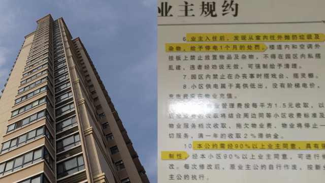 13樓業主高空拋酒瓶,物業斷電30天:高空拋物整棟樓遭殃