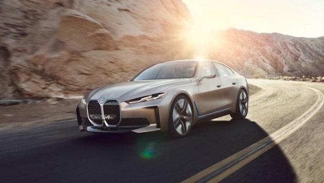 純電動BMW i4概念車揭開新能源發展新篇章