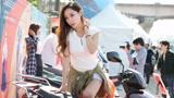 韩国国际车展美女车模