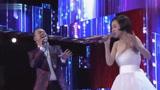 郭采洁、杨坤两人同台演唱神曲《答案》,粉丝:太有CP感了!