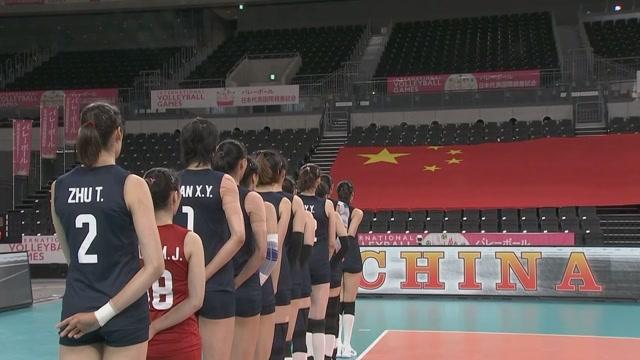 【集锦】中国女排时隔580天再登国际赛场 奥运测试赛3-0完胜日本_排球