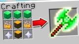 小君姐姐我的世界:合成一把绿宝石战斧