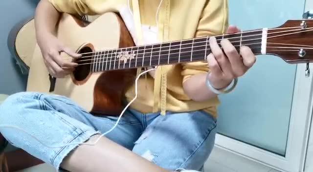 吉他弹唱《南山南》