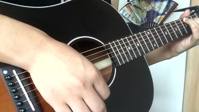 吉他独奏《卡农》-D大调