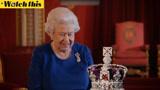 英国女王与加冕皇冠65年后再次同框 犀利吐槽王冠太笨重