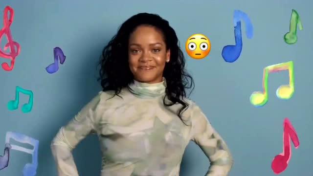 Rihanna對話Anna