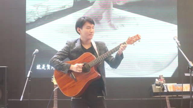卢家宏 - 七龙珠 LEGPAP吉他弹唱,上海乐器展
