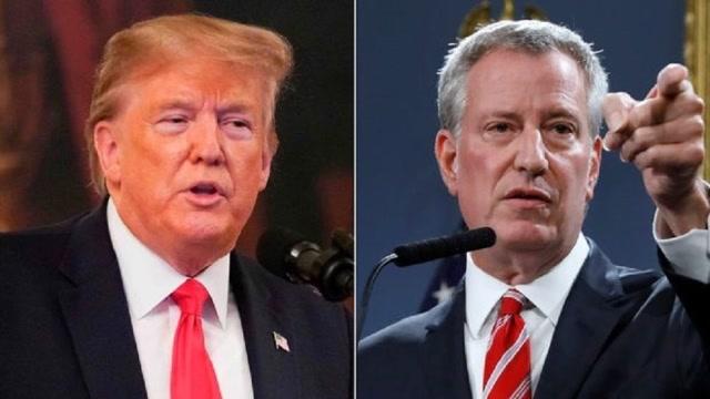 """""""形勢正在惡化!"""" 紐約市長請求特朗普出手:再不行動就晚了"""