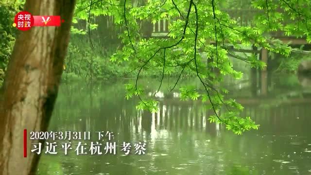 獨家視頻丨習近平考察杭州