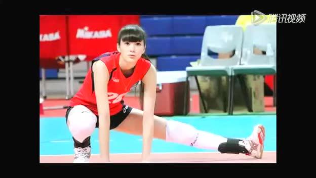 哈萨克斯坦排球女神太清纯