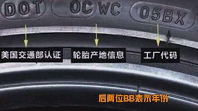 轮胎生产日期怎么看?分分钟搞清楚,再也不会被坑了
