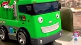 汽车玩具总动员撞车!小企鹅波鲁鲁运钞车撞小公交车太友钻石车