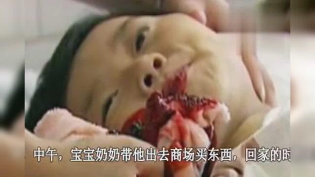 宝贝你的奶可真大给我吃,奶奶给他吃完后宝贝就吐血不止