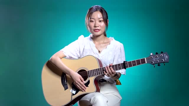 林俊杰《修炼爱情》吉他弹唱教学C调 高音教