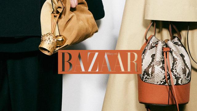時尚芭莎90秒|LOEWE的包包,最近是怎麼回事?