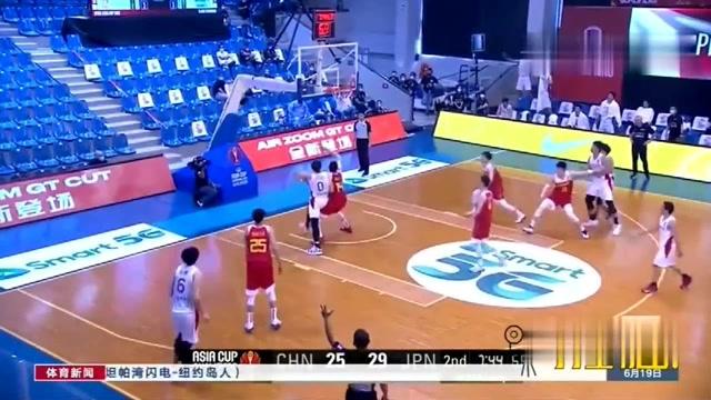 大逆转!中国男篮战胜日本队,取得三连胜_体育新闻