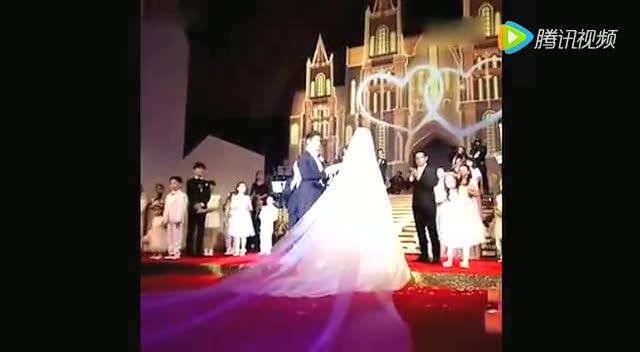 黄晓明Angelababy婚礼视频现场全程回放