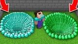 小君姐姐我的世界:挑战绿宝石和钻石的陷阱洞
