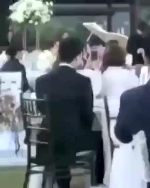 婚禮賓客席上的GD(2)
