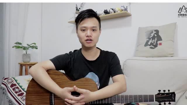 《绿色》陈雪凝-吉他弹唱教学-大树音乐屋