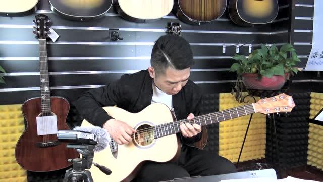 《夜的钢琴曲》深蓝雨吉他独奏版讲解教学曲谱