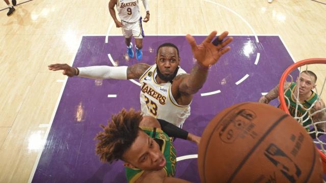 NBA放大鏡:盤點NBA球星經典招牌絕技,詹皇追身釘板大帽太無情