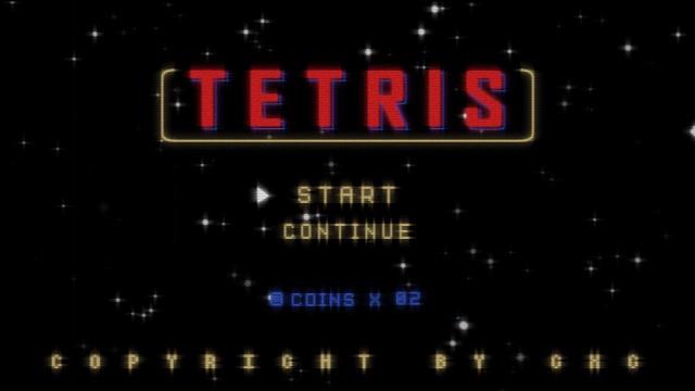 GXG X TETRIS 合作系列概念視頻