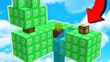 小君姐姐我的世界:挑战绿宝石幸运方块