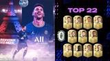FIFA22评分TOP100出炉!梅西稳居第一