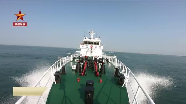 """""""我們是中國海警,請立即停船接受檢查!"""""""